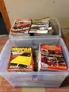 Automotive magazines