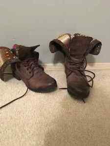 Steve Madden Combat Boots Edmonton Edmonton Area image 1
