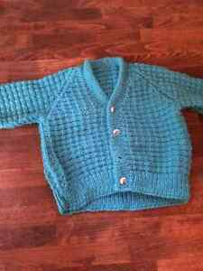 Hand Knit / Hand made Baby Sweaters Cambridge Kitchener Area image 7