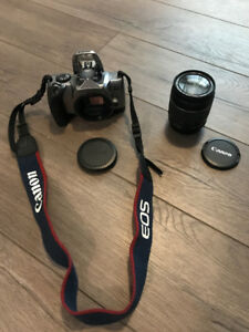 Canon EOS Rebel SLR film only camera