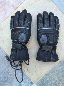 Heated Leather gloves (Hotwired) - Medium