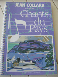 CHANTS DU PAYS  de JEAN COLLARD