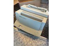 HP laser jet 6L laser printer.