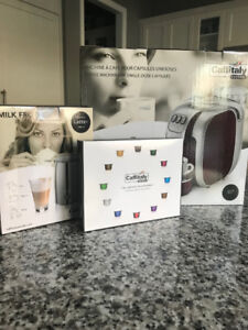 Caffitaly S07 Espresso Machine + Frother + Capsules - BRAND NEW