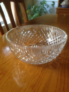 Tyrone crystal bowl