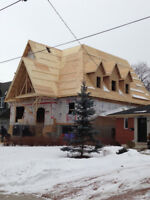 ADDITIONS / CUSTOM HOME FRAMING / BEARING WALLS / RENOVATIONS