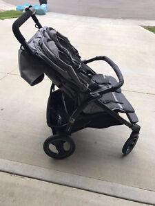 double peg perego stroller - excellent condition