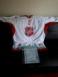 Autographed Oveckin jersey