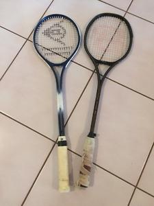 Squash racquet - set of 2