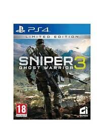 Sniper 3 goust warrior ps4 excellent condtion