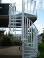 BEST PRICE! Fully WELDED Spiral stairs