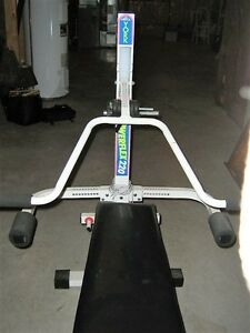 Bodyflux Elliptical trainer and York workout bench Kitchener / Waterloo Kitchener Area image 3
