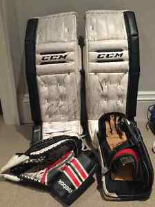 Jr Goalie Pads and Equipment