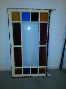 Stained glass multi- frame