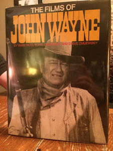 "First edition The films of John Wayne"" SIGNED! Hard cover book."