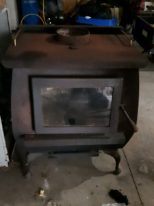Wood Stove/Oil Furnace and Chimney