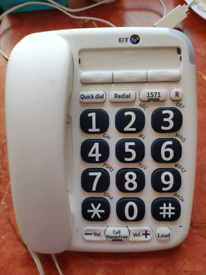 BT big button phone with loud ring