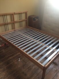 Ikea double bed £25 - SOLD