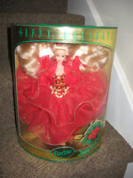 """Vintage Mint in Box 1993 """"Happy Holidays"""" Special Edition Barbie"""