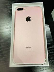 iPhone 7plus, no scratch/dent, with unused charger, headphones