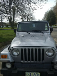 2003 Jeep Wrangler Rubicon $11995 >> $10500 Cash!
