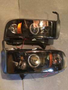 2nd gen ram headlights for sale!
