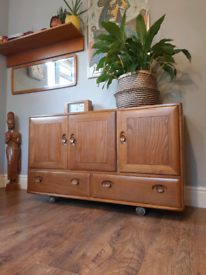 Ercol Windsor Sideboard Vintage Retro MCM Delivery Available