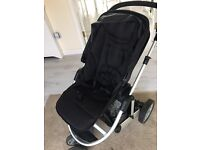 Mamas and Papas Pushchair System with all attachments, Raincover, footmuff,