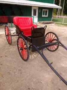 Horse drawn buggy/carriage