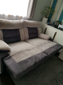 Nelson 3 Seater Manual Recliner Sofa