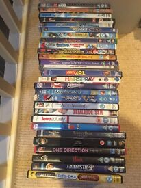 28 children's and family DVDs