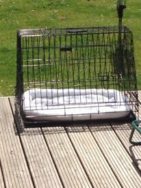 Sloping Car Boot Dog Cage