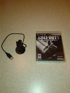 PS3 game and headset for sale!