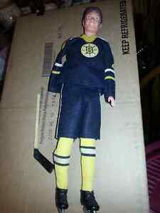 RARE BOBBY ORR BOSTON BRUINS DOLL -MISSING ARM