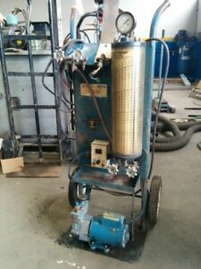 R12 air condition charge station, no gauge manifold,