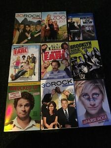 Blu rays dvds and season