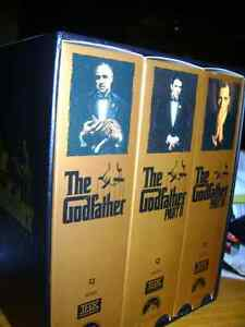 THE GOD FATHER SERIES  1-2-3 ON VHS