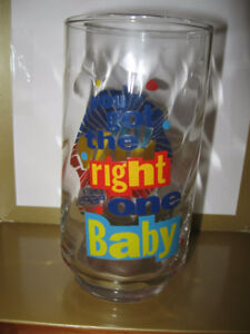 RETRO DIET PEPSI  glass UH Huh You got the right ONE BABY