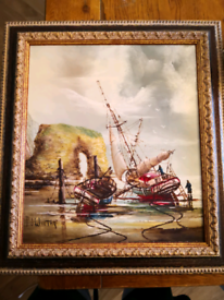 P J Wintrip Oil painting