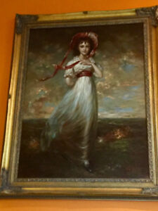 Oil Painting on canvas signed by D Teniers