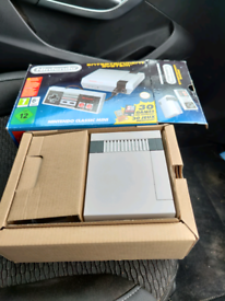 Official NES classic mini console + extra games