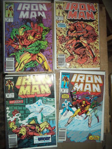 1988 lot 4 The Invincible Iron Man Marvel Comic Books # 237