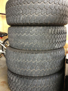 4 Goodyear Truck Tires For Sale
