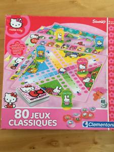 Jeu de plateau - 80 jeux classiques - Hello Kitty