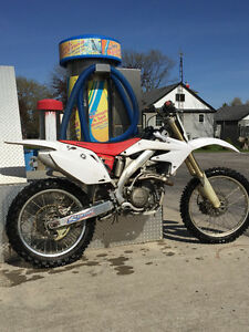 08 HONDA CRF450R FOR SALE / PRICED FOR QUICK SALE