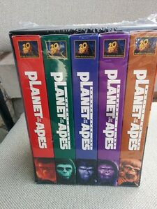 Set of 4 Planet of the Apes Collection - VHS