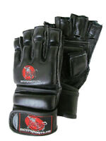 MMA Gloves- Leather, high density padding - NEW