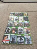Selling Xbox 360 games, all in good condition