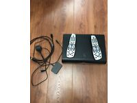 Sky + HD box with Remote and Wireless Receiver