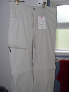 Outdoor zip-off pants